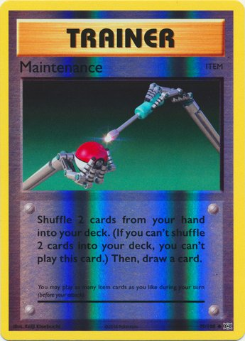 Pokemon - Maintenance (79/108) - XY Evolutions - Reverse Holo