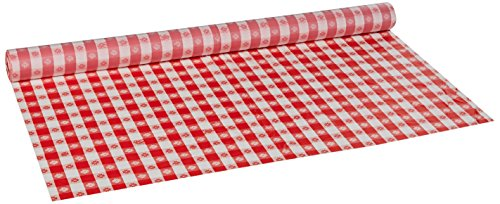 Hoffmaster 114001 Plastic Tablecover Roll, 300' Length x 40