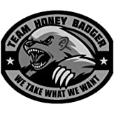 Team Honey Badger Vinyl Decal