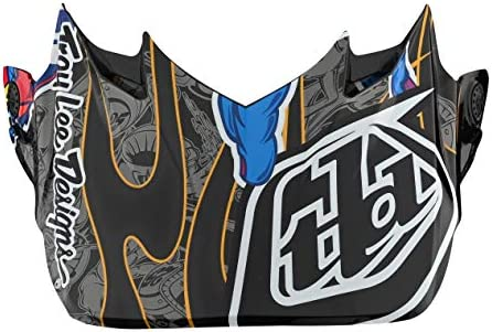 Troy Lee Designs SE4 アイボールヘルメットバイザー One Size ブルー 175156000
