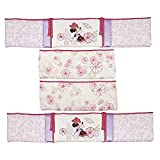 kidsline crib bumper - Disney Minnie Mouse Butterfly Dreams Crib Bumper