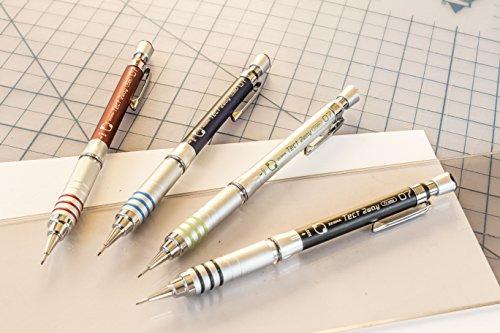 Zebra Steel M Mechanical Technical Pencil Eraser Refills 7-Count by Zebra Pen (Image #1)