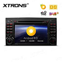XTRONS 7 Android 8.0 Octa Core 4G RAM 32G ROM HD Digital Multi-touch Screen DVR Car Stereo DVD Player Tire Pressure Monitoring Wifi OBD2 for Mercedes Benz A Class B-W245