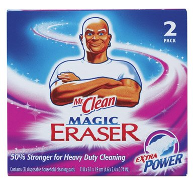 Mr Clean 84539 Mr. Clean Extra Power Magic Eraser 2 Count by Mr. Clean (Image #1)