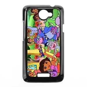HTC One X Cases Cell Phone Case Cover Cartoon Dora The Explorer 6R67R846556
