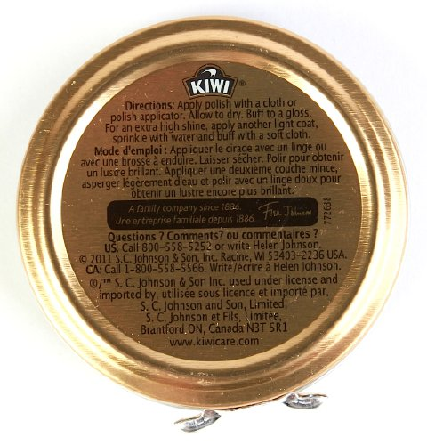 Kiwi Shoe Polish Paste, 1-1/8 oz, Neutral, 144-Pack by Kiwi (Image #1)