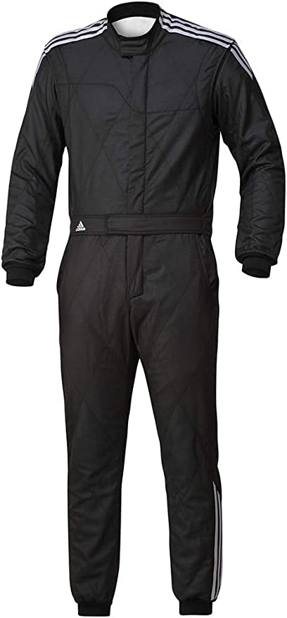 Deber coser bruscamente  Amazon.co.jp: Adidas Motorsport (Adidas Motorsport) RS Racing Suit Black  Size 56 °F9241156 : Car & Bike Products
