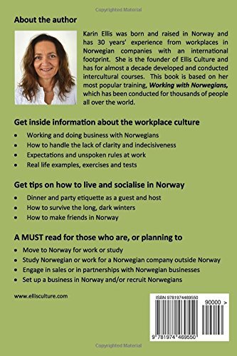 Working with norwegians the insiders guide to the norwegian working with norwegians the insiders guide to the norwegian workplace culture karin ellis 9781974469550 amazon books reheart Choice Image