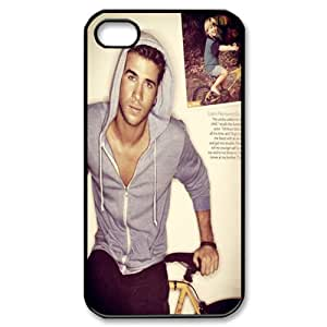 Liam Hemsworth Hard back cover case fit for Apple Iphone 4 4s