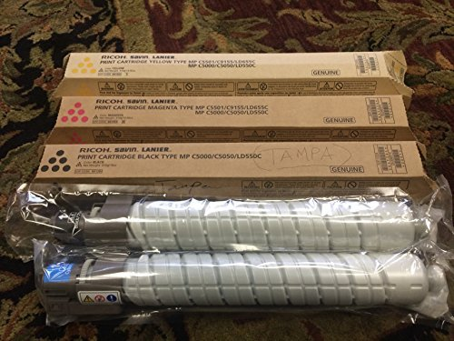 genuine-ricoh-mp-c5000-c5050-ld550c-toner-bundle-set-bcym-841284-841454-841455-841456-sealed-in-reta