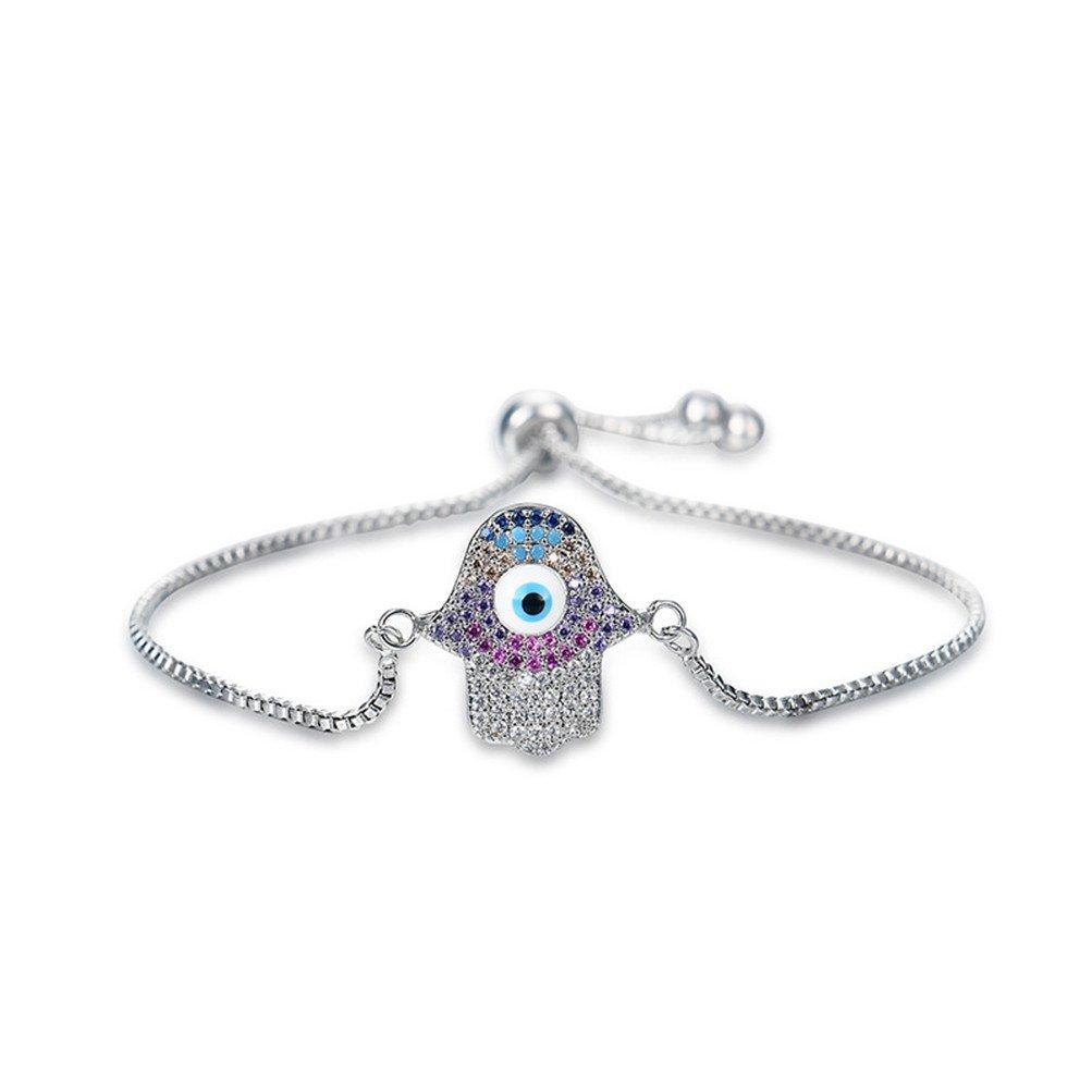 "Tennis Bracelet ""A Little Romance"" Adjustable Austrian Crystal Jewelry for Girlfriend Wife Mom (B)"