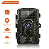 Elepawl Hunting Trail Game Camera, 16MP Wildlife Motion Activated Camera Cam with 120°Infrared Night Version, 2.4'' LCD, 46pcs IR LEDs, IP56 Waterproof design for Animal/Event Observation Surveillance