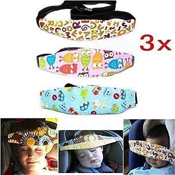 Eg /_ Baby Kinderwagen Sicherheitsgurt Autositz Kopf Unterstützung Band Schlafen