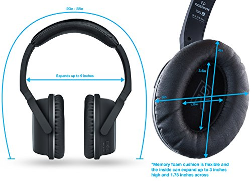 wireless bluetooth headphones workout over ear hi fi. Black Bedroom Furniture Sets. Home Design Ideas