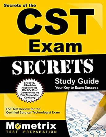 Certified surgical technologist (cst) practice test questions.