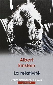La relativité par Einstein