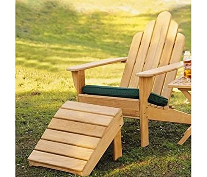 Grade A Teak Wood Adirondack Chair With Footrest #WHAXACWF