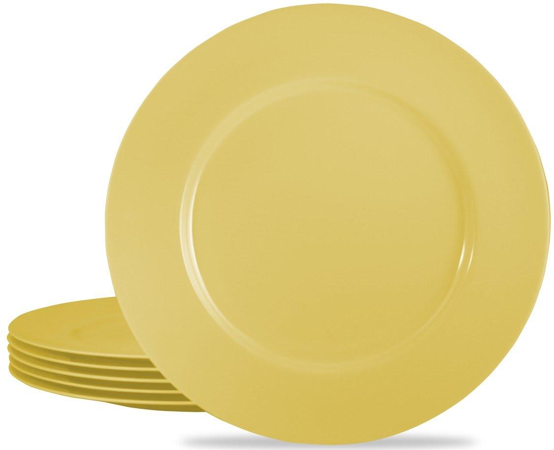Reston Lloyd Red Melamine Dinner Plate, Set of 6 71600RSET