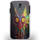 majora mask art for Samsung Galaxy S4 white Case