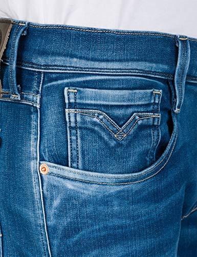 Slim Blue Hyperflex Fit Anbass Jeans REPLAY Men's StxwB8Wz