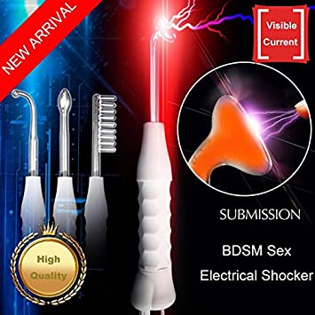 Sex toys with electric shock