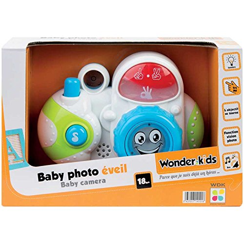 Wonderkids - A1400055 - Appareil Photo Son Et Lumière Appareils photo numériques