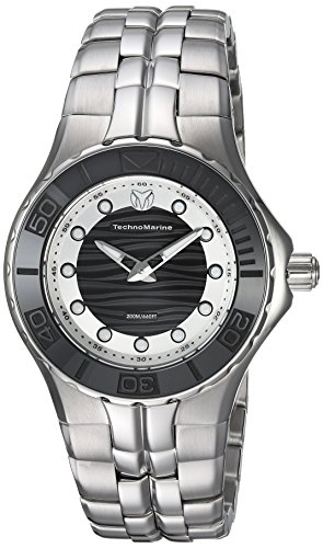 Technomarine Women's 'Cruise' Quartz Stainless Steel Casual Watch, Color:Silver-Toned (Model: TM-115396)