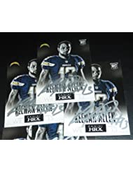 Keenan Allen Signed 2013 Panini Prizm HRX Chargers Rookie Card #1 RC Autograph - Panini Certified - Football Autographed Rookie Cards
