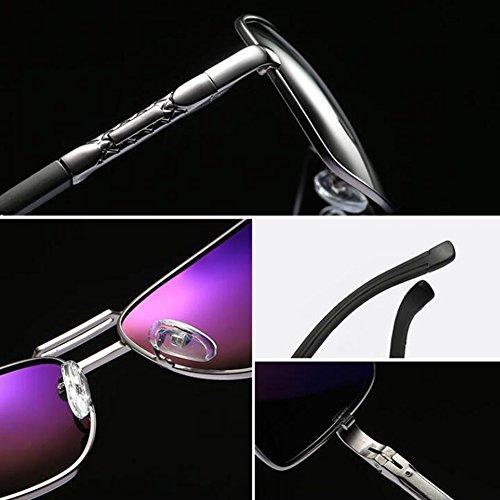 2 Commerce Polarisée Plein De Miroir Mode De Conduite Boîte Hommes UV Protection UV400 Classique des ZX Mature Air 2 Soleil De Lumière Lunettes Couleur wCBzq7t