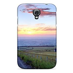 Hot Tpu Cover Case For Galaxy/ S4 Case Cover Skin - Gravel Road Down The Countryside by Maris's Diary