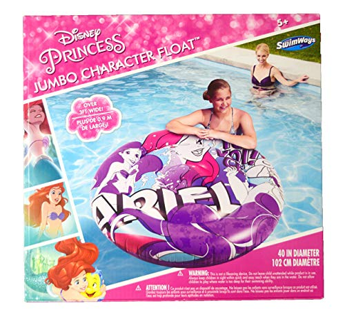 SwimWays 6044915 Ariel Jumbo Character Adult Float, Multi, Multi-Colored