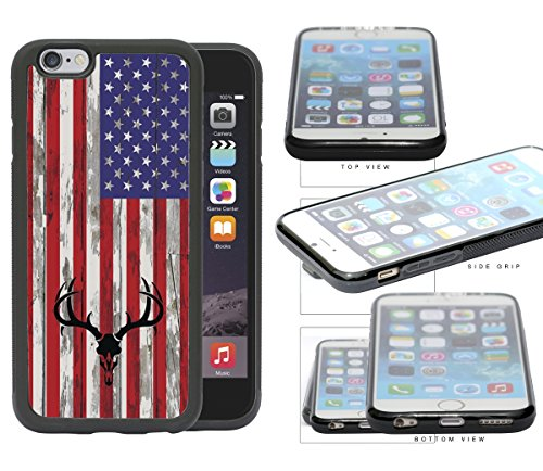 Hunter Antlers Background Rubber iPhone product image