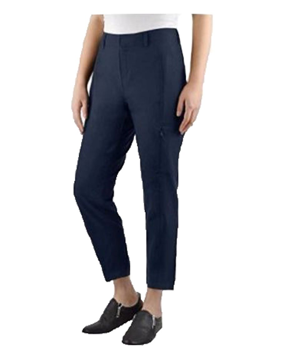 Kirkland Signature Ladies Ankle Length Travel Pant (12, Navy)