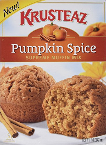 Krusteaz Pumpkin Spice Supreme Muffin Mix (Single Box 15oz)