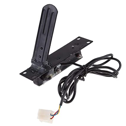 Foot Pedal Electrical Car Vehicle Accelerator Pedal Hall Throttle E-Bike Go Kart