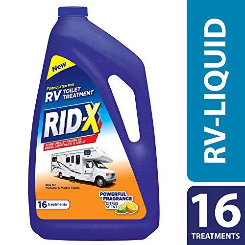 Price comparison product image RID-X RV Toilet Treatment Liquid,  16 Treatments,  48 fl oz