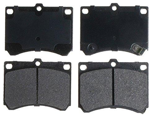 Ford Escort Brake Pads (ACDelco 14D473M Advantage Semi-Metallic Front Disc Brake Pad Set with Wear Sensor)