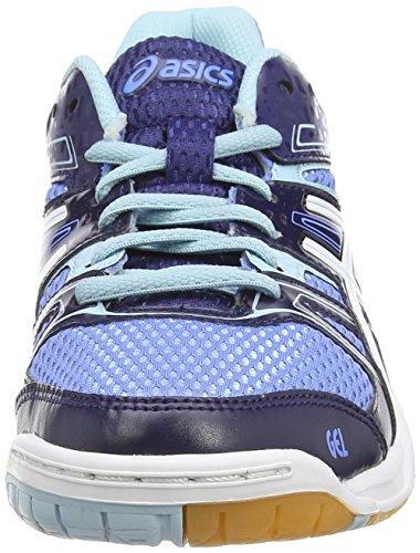 Voleibol Mujer white Asics Azul indigo Blue Gel Blue 7 rocket 4701 De Para Zapatillas powder qXgSqw