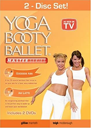 Yoga Booty Ballet 2 Pack: Am Latte / Goddess Abs Reino Unido DVD ...