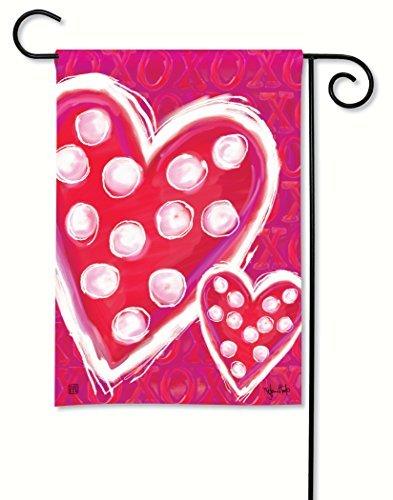 Magnet Works MAIL31289 Valentine Wishes Garden Flag