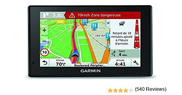 Garmin DriveSmart 50 We LM - Navegador GPS mapas de por Vida ...