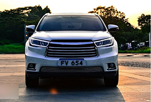 GOWE Car Styling For Toyota HIGHLANDER headlights For HIGHLANDER head lamp Angel eye led DRL front light Bi-Xenon Lens xenon Color Temperature:6000k;Wattage:35w 4