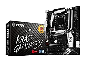 MSI Performance Gaming Intel Z170A  LGA 1151 DDR4 USB 3.1 ATX Motherboard (Z170A Krait Gaming 3X)