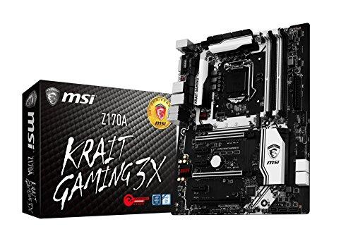 Motherboard Z170A Krait Gaming 3X Core i3/i5/i7 Z1Z170