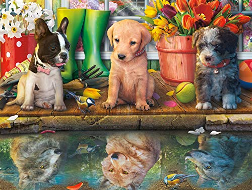 Buffalo Games - Puppy Dreams - 750 Piece Jigsaw Puzzle