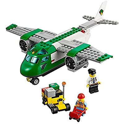 LEGO City Airport 60101 Airport Cargo Plane Building Kit (157 Piece): Toys & Games