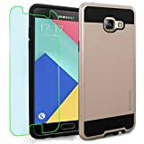 Samsung Galaxy A5 (2016) / A510F Case, INNOVAA Elite Hybrid Series Case (Not Compatible with Samsung Galaxy A5 (2015)) W/ Free Screen Protector & Touch Screen Stylus Pen - Rose Gold