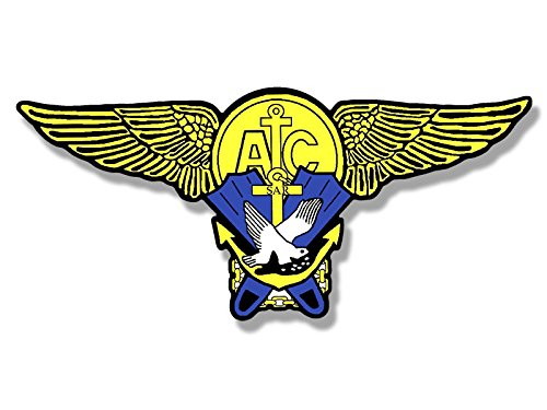Rescue Wings (WINGS SHAPED Surface Air Rescue Swimmer Sticker (logo sar navy))