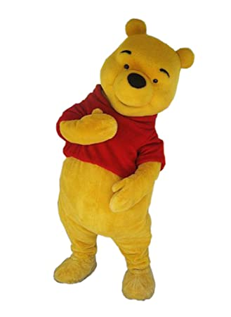 4903e641b59e JWUP Plus Size Plush Winnie the Pooh Mascot Costume Bear Cartoon Costume   Amazon.co.uk  Sports   Outdoors