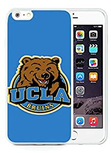 UCLA BRUINS White iPhone 6 Plus 5.5 inch TPU Cellphone Case Luxurious and Newest Design